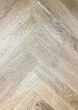 ELKA 14MM ENGINEERED HERRINGBONE LIGHT SMOKED OAK